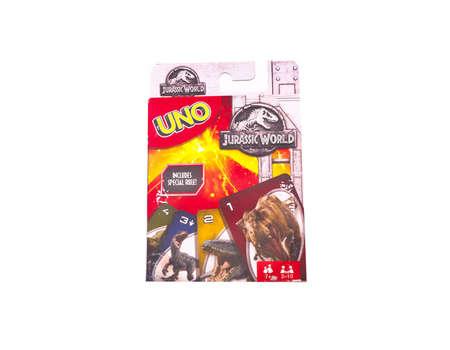 Uno Jurassic World Cards