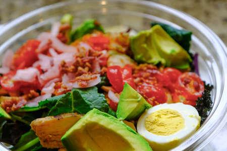 Fresh Cobb Salad Фото со стока
