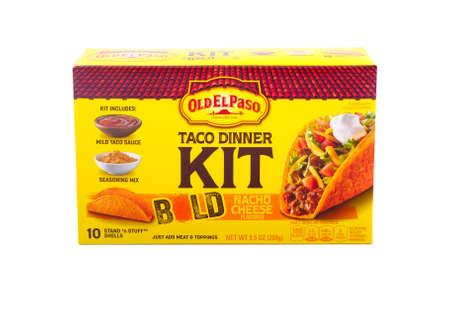 Old El Paso Taco Dinner Kit Редакционное