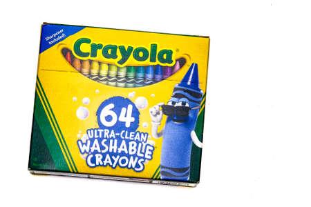 64 Crayon Colors