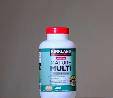 KIrkland Mature Multi Vitamins Редакционное