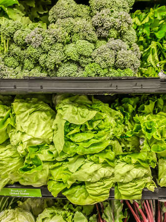 Greens in Grocery Store