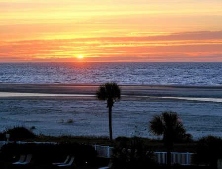 Sunrise on Georgia Beach