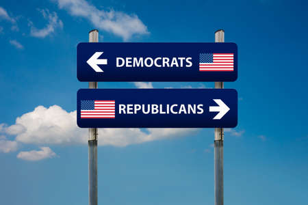 republican: democrat and republican concepts in american election