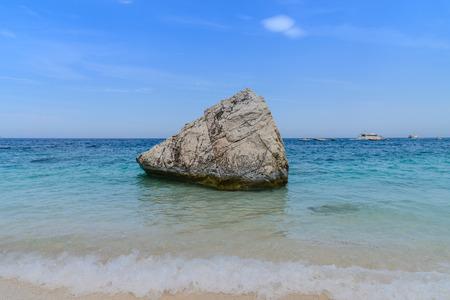 beautiful sea in orosei gulf in sardinia, italy