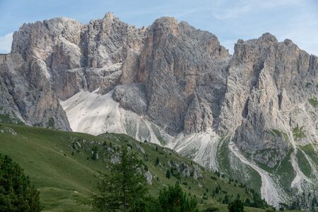 selva: beautiful val gardena and dolomity in italy