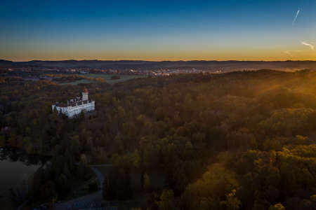 Konopiste is a four-winged, three-storey chateau located in the Czech Republic. It has become famous as the last residence of Archduke Franz Ferdinand of Austria, the Austro-Hungarian throne. Editorial