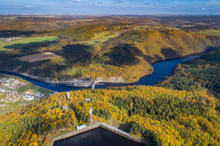 The Vltava river is 430.3 kilometers long and drains an area of 28,090 square kilometers in size, over half of Bohemia and about the third of the Czech Republics entire territory. Its the longest river