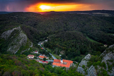 Saint John under the Cliff is a village in the Central Region, Beroun district, about 30 km southwest of Prague, less than 5 km east of Beroun. Lies in the heart of the Protected Landscape Area.