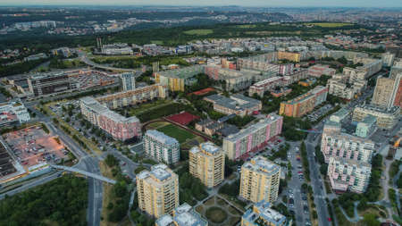 Housing estate Luziny is a part of Southwest City housing estate in Prague 13 in the cadastral area Stodulky. It is located south of Central Park and west of its eastern end.