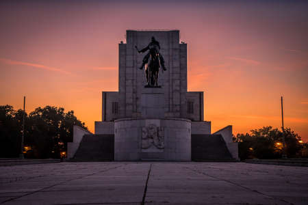 National Memorial at Vitkov is a functionalist monument was built in 1929-38 in honor of Czechoslovak legionnaires. Visitors can see two permanent exhibitions of the Crossroads of Czechoslovakia.