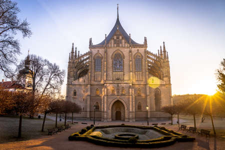 Kutna Hora town began in 1142 with the settlement of Sedlec Abbey, the first Cistercian monastery in Bohemia, Sedlec Monastery, brought from the Imperial immediate Cistercian Waldsassen Abbey. By 1260