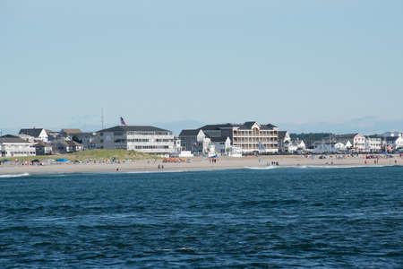 A view of Hampton Beach
