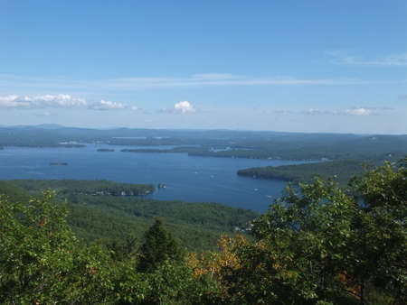 A beautiful view from the top of Mount Major