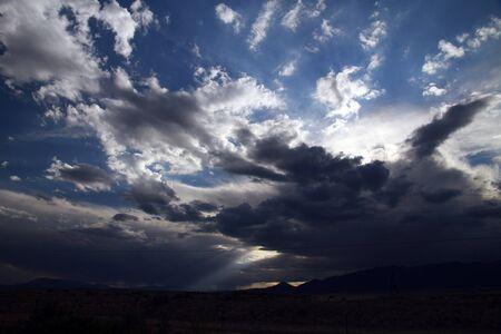 Storm Clouds over Agoura Hills California