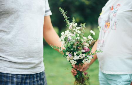 flowers love Reklamní fotografie
