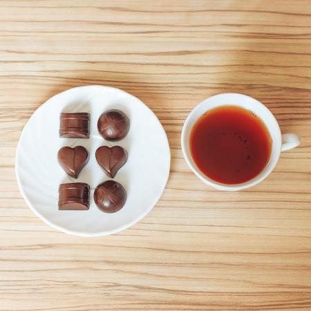 tea chocolate
