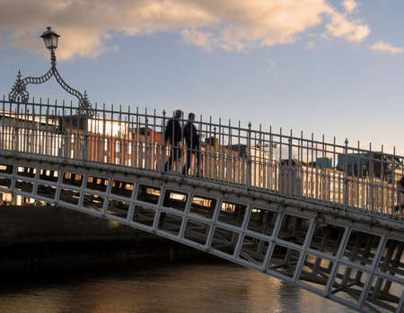 Hapenny Bridge Dublin photo