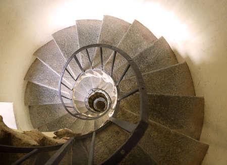 stairwell: Turin Basilica of Superga Stairwell