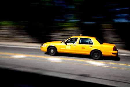 ny: ny cab Stock Photo
