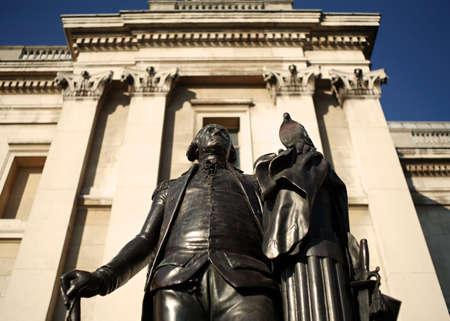 george washington statue: george washington statue london
