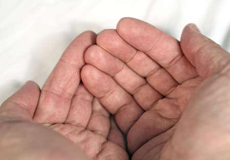 close up of hands Banco de Imagens