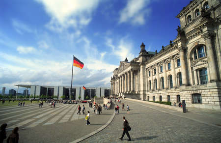 goverment: Berlin Reichstag Stock Photo