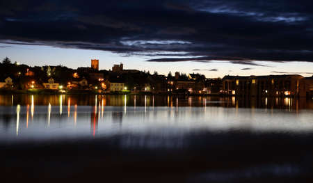 reykjavik: Reykjavik en la noche