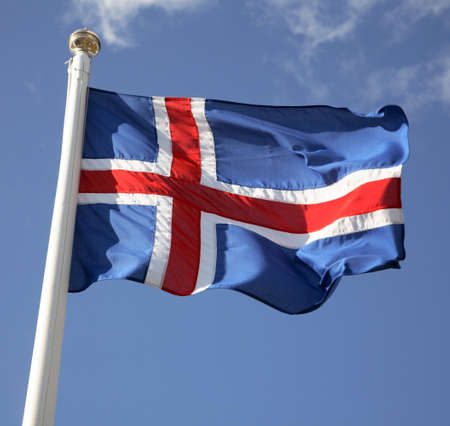 icelandic flag: Bandera de Islandia