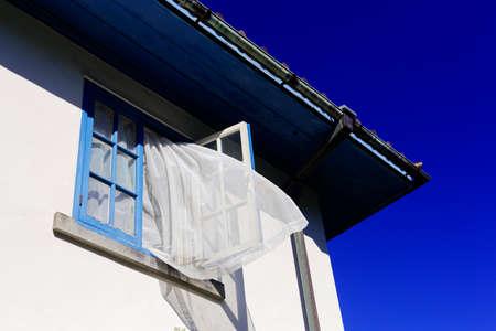 cielos abiertos: Open Window  Foto de archivo