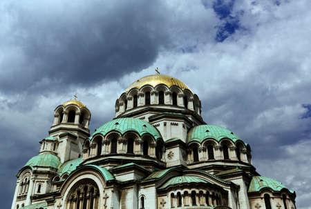 Bulgaria Sofia Cathedral