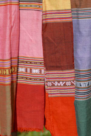 miao: Traditional pattern of Black Miao (Hmong) minority women, Sapa, Vietnam.