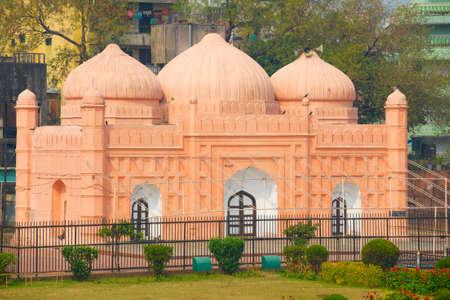 mughal: Lalbagh Fort Mosque, Dhaka, Bangladesh. Stock Photo