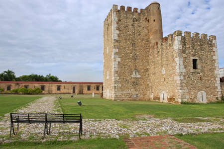 Ozama Fortress in Santo Domingo, Dominican Republic.