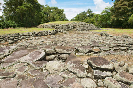 archeological: Mysterious ruins of Guayabo de Turrialba, Costa Rica. The site is of great archeological  importance, it