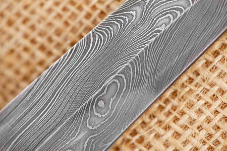 Damascus steel pattern