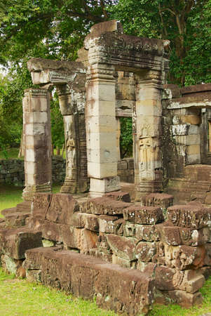 Ruins of Bandeay temple in Siem Reap, Cambodia.