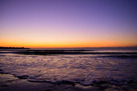 ri: Pre-sunrise over Newport, RI