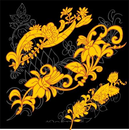 motifs: Russian Folk Art Illustration