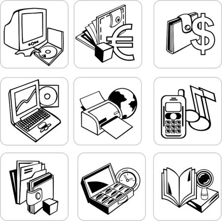 Business Icon Stock Vector - 7536026