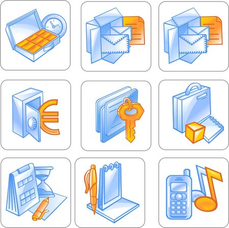Business Icon Stock Vector - 7536040