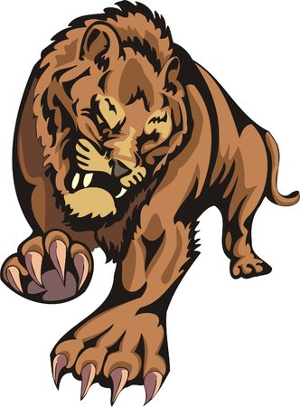 striding: Important striding quiet tiger. Big cats.