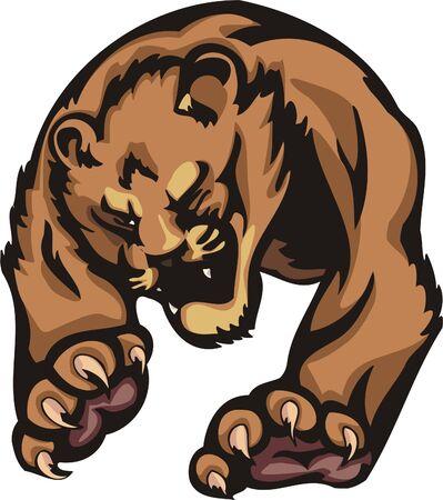 Important striding quiet tiger. Big cats. Stock Vector - 7923211