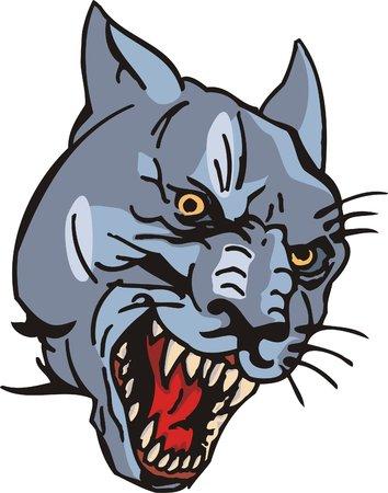 dangerously:  Big cats.  Illustration