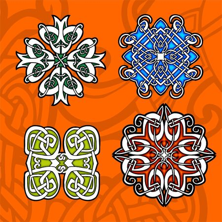 Celtic ornamental design.  Illustration. Vinyl-Ready. Stock Vector - 8268923