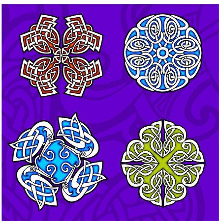 Celtic ornamental design.  Illustration. Vinyl-Ready. Stock Vector - 8268928