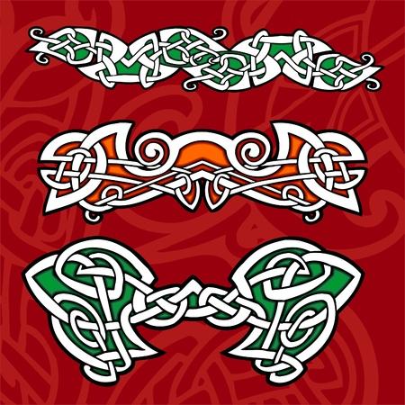 Celtic ornamental design.   Illustration. Vinyl-Ready. Stock Vector - 8268925