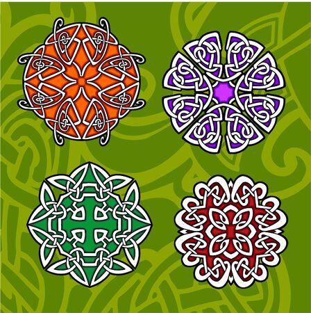 Celtic ornamental design. Illustration. Vinyl-Ready. Stock Vector - 8268929