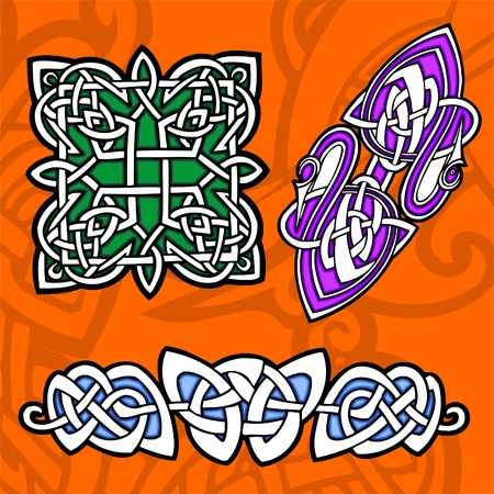Celtic ornamental design.  Illustration. Vinyl-Ready. Stock Vector - 8268902