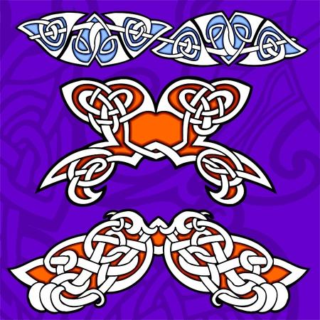 Celtic ornamental design. Illustration. Vinyl-Ready. Stock Vector - 8268897